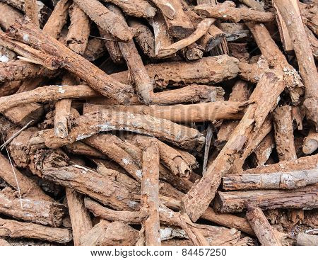 Firewood Texture And Background