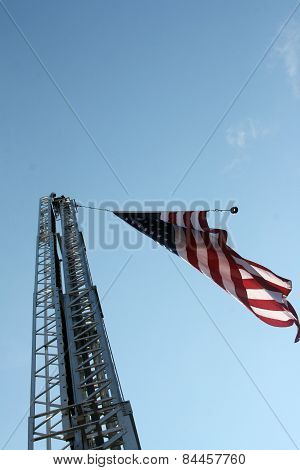 Flag & Ladder