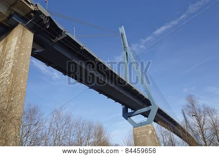 Hamburg (germany) - Koehlbrand Bridge