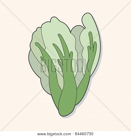 Vegetable Theme Water Convolvulus Elements Vector,eps