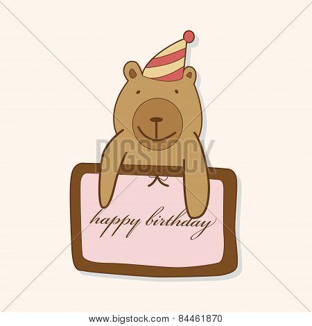 Birthday Card Theme Elements Vector,eps