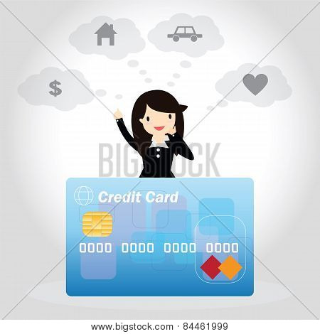 Credit Card Concept