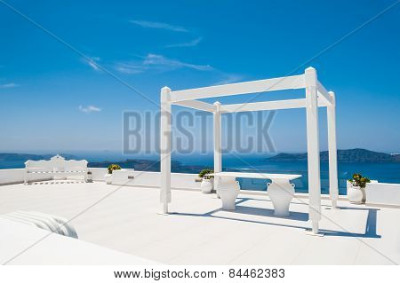 Wedding Venue On The Roof With Sea View