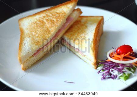 Sanwich ham&cheese