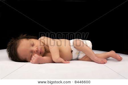 Sleeping Newborn Infant