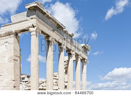 Propylaea, Propylea or Propylaia is a monumental gateway.
