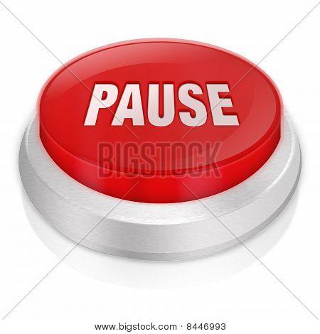 Pause 3D Button