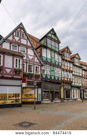 Street In Celle, Germany