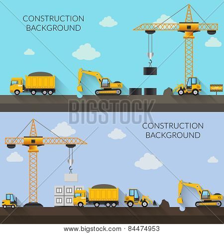 Construction Background Illustration