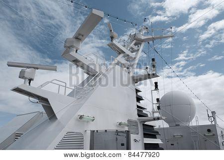 Satellite communication antenna
