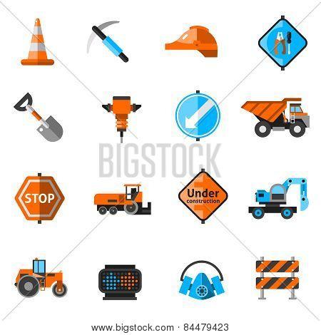 Road Repair Icons