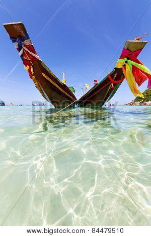 Thailand     Kho Tao Bay Asia Isle Blue Clean