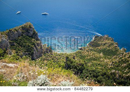 Capri, Italy - July 16