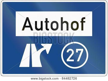 Autohof Ausfahrt 27