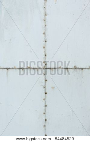 Light Gray Grungy Metal Background