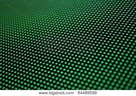 Led Screen Green