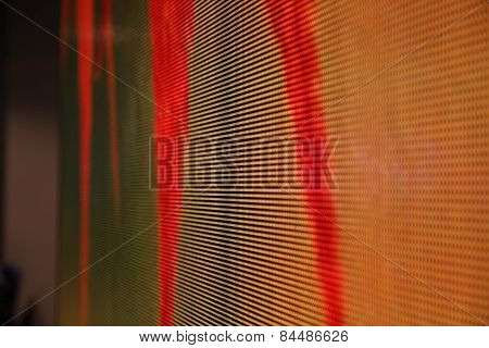 Led Screen Picture Red Green