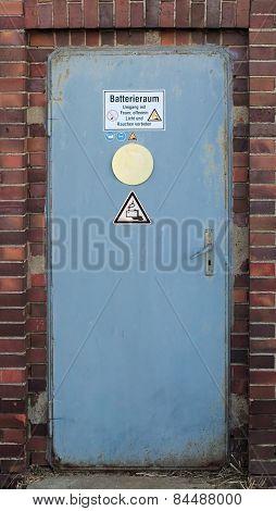 Door To Battery Room