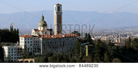 Vicenza, Italy, Monte Berico Basilica Dedicated To Our Lady