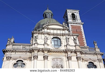 Vicenza, Italy, Monte Berico's Basilica Dedicated To The Virgin Mary
