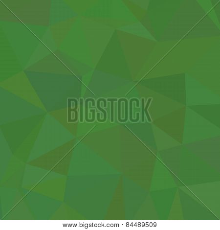 Conception of triangle wallpaper. Trendy Polygonal design. Easy usage. Vector.