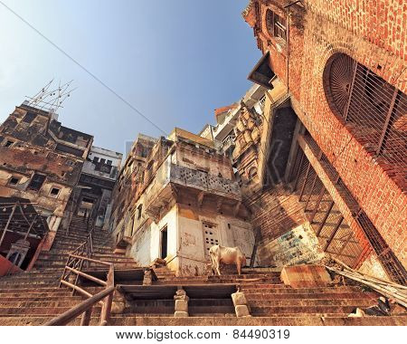 Holy city of Varanasi, India