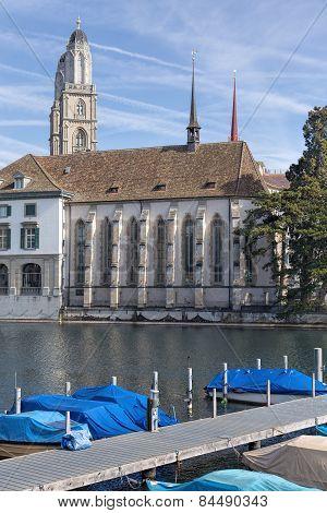 Zurich, The Limmat River