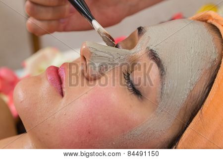 Beauty treatments in the beauty salon