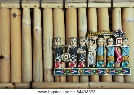Balinese people figures