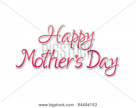 Abstract Artistic Mothers Day Background