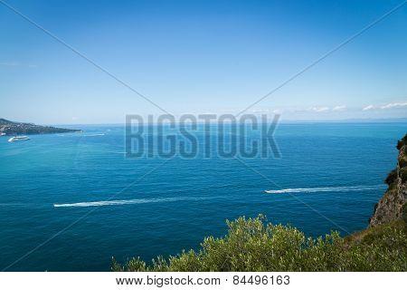 Sorrento coast, Italy - July 13