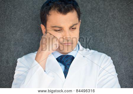 Depressed Healthcare Professional