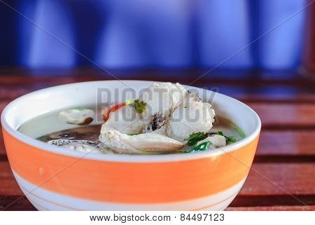 Tom Yum Soup With Fish