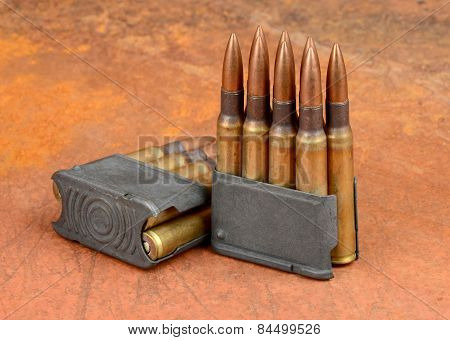 M1  Clips And Ammunition.