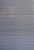 stock photo of roller shutter door  - Galvanized Steel Roller Shutter Door texture and background  - JPG