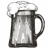 pic of drawing beer  - sketch - JPG