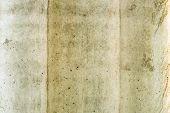 stock photo of mortar-joint  - Gray concrete surface with rich and various texture - JPG