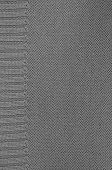 pic of knitting  - close up of a gray knitted background pattern - JPG