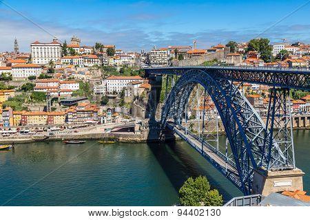 Dom Luis I Bridge In Porto