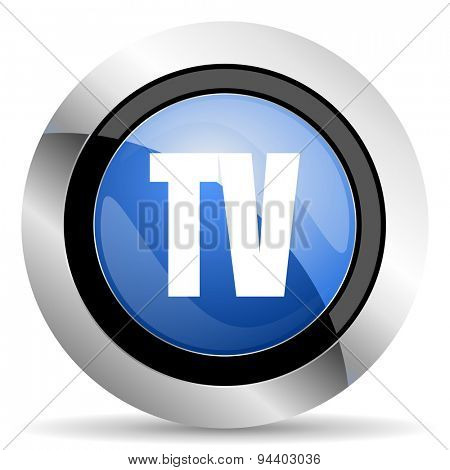 tv icon television sign original modern design for web and mobile app on white background