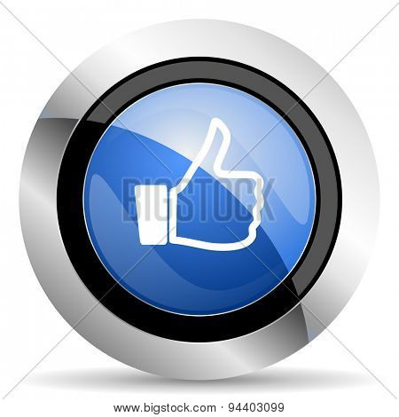 thumb up sign original modern design for web and mobile app on white background