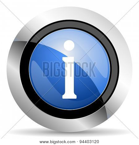 information icon  original modern design for web and mobile app on white background