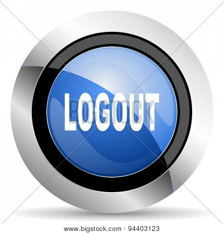 logout icon  original modern design for web and mobile app on white background
