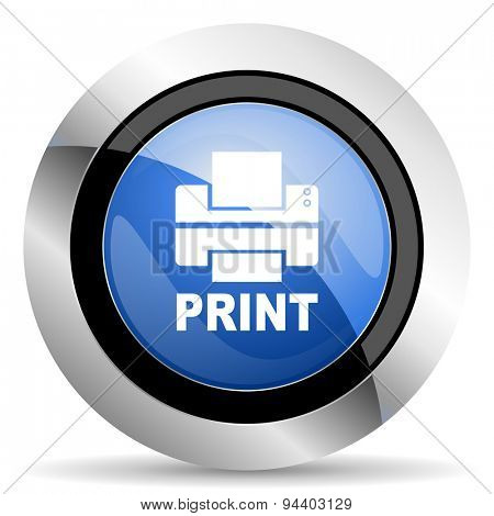 printer icon print sign original modern design for web and mobile app on white background