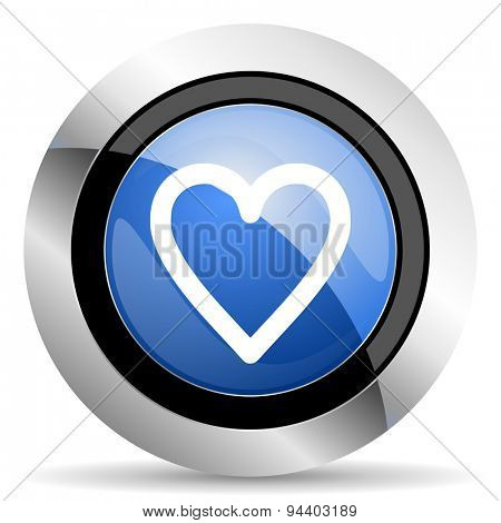 heart icon love sign original modern design for web and mobile app on white background