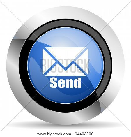 send icon post sign original modern design for web and mobile app on white background