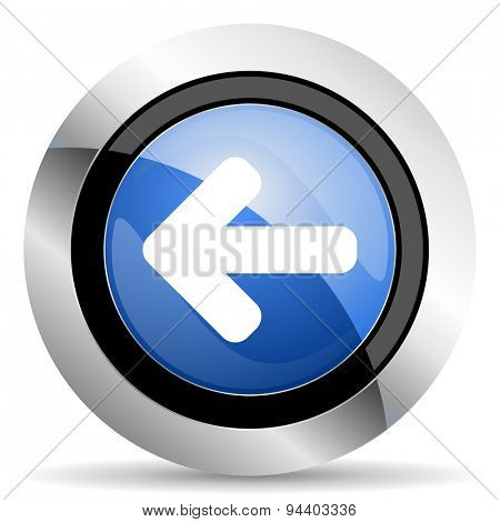 left arrow icon arrow sign original modern design for web and mobile app on white background