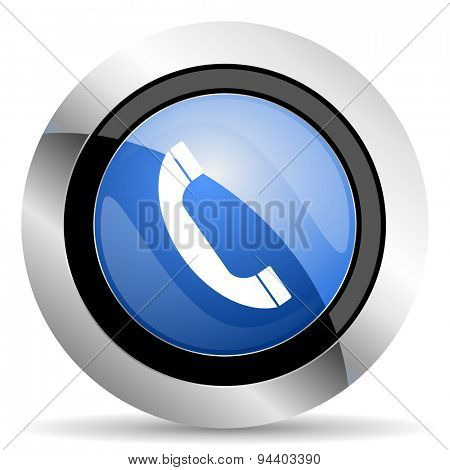 phone icon telephone sign original modern design for web and mobile app on white background