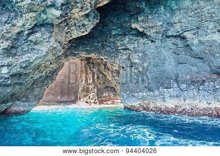 Sea Arch, Na Pali Coast, Kauai