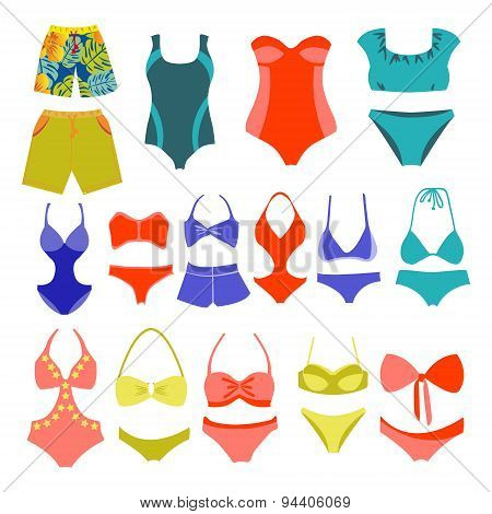 Fashion Collection Swimming Suits